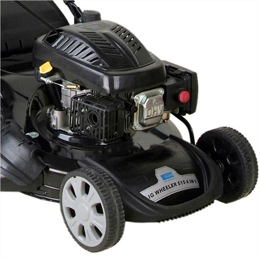g de big wheeler 515 4in1 blackline benzin rasenm her schnitt 50 8 cm 3 8 kw ebay. Black Bedroom Furniture Sets. Home Design Ideas