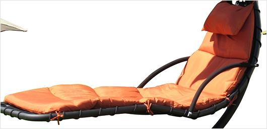 Leco schwingliege verschiedene farben sonnenliege for Leco schaukelstuhl mit polsterauflage